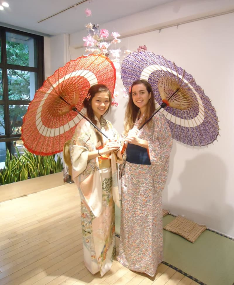 Kimono JNTO Tokyo Halal Navi