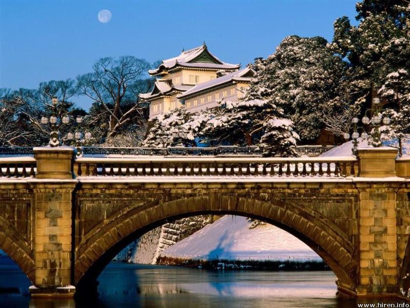 imperial palace tokyo Halal Navi