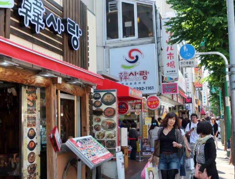 korean-town shinokubo halal navi
