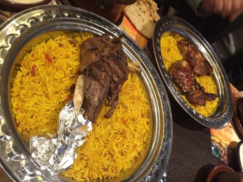 Biryani in ali's kitchen osaka