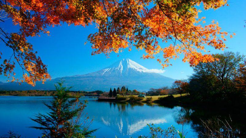View point of Sakasa Fuji