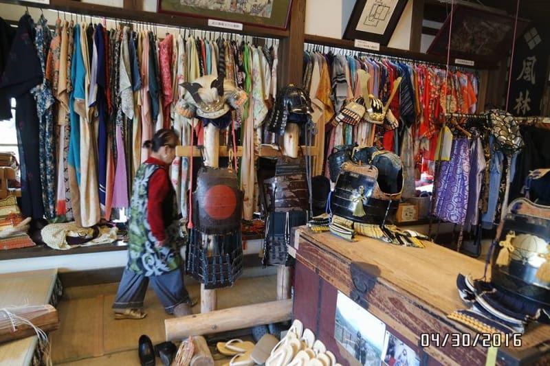 Costume rental shop in Saiko Nenba
