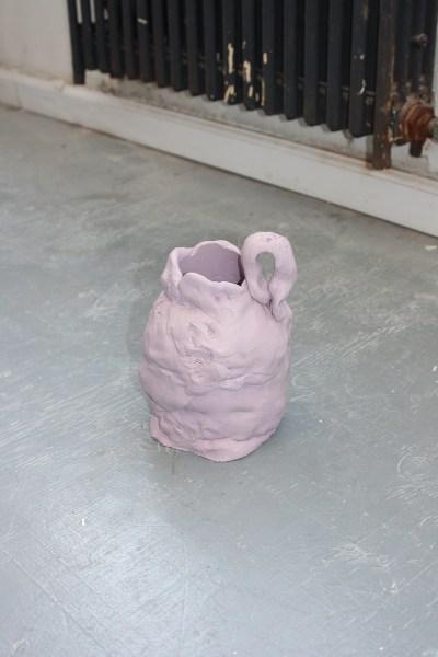 half-wet studio new york christina johnston hand-formed silicone mouthpiece vase