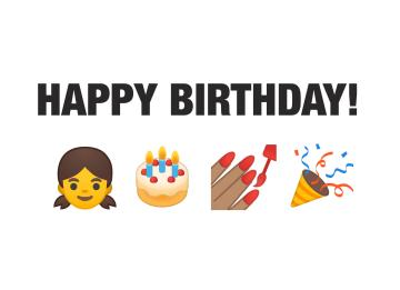- verjaardagskaart-emojis-vrouw-meisje-happy-birthday