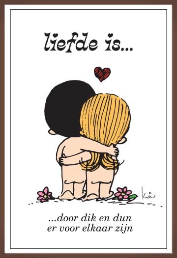 - liefde-is-kaart-chocolade-dor-dik-en-dun-er-voor-elkaar-zijn