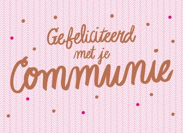 - roze-met-stippen-communie
