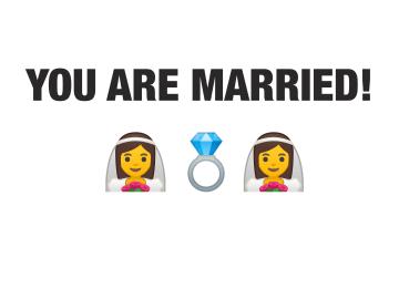 - huwelijk-kaart-getrouwd-emojis-vrouw-vrouw