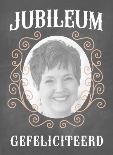 - fotokaart-jubileum--grijs-met-sierlijk-patroon