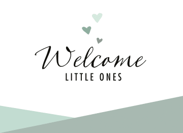 - geboorte-meerling-welcome-little-ones-groen