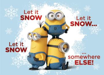 - kerst-minions-let-it-snow