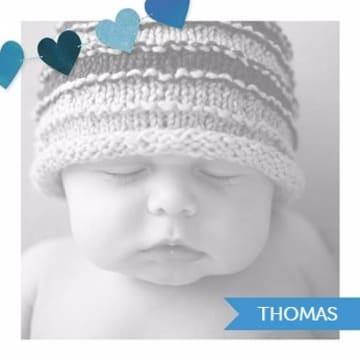 - fotokaart-vierkant-baby-blauw-hartjes