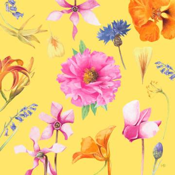 - Kaart-flowers-by-Marjolein-Bastin-Blanco-geel-bloemen
