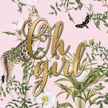 - CLA-oh-girl-a-giraffe
