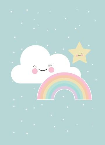 - wolken-achter-de-regenboog