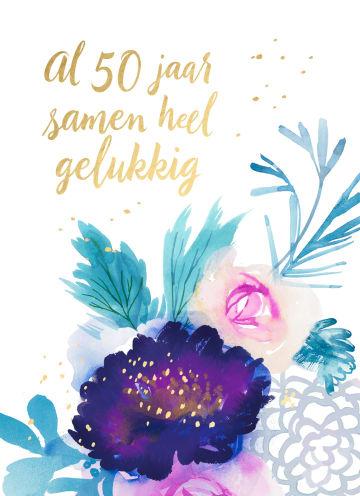 - Huwelijkskaart-al-50-jaar-samen-heel-gelukkig
