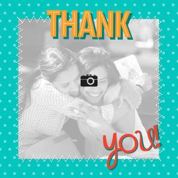 - fotokaart-thank-you-groen-kader