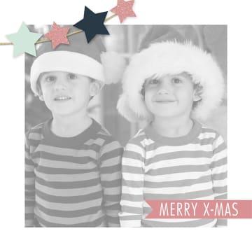 - fotokaart-vierkant-kerst-merry-xmas-sterretjes-
