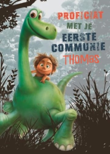 - disney-the-good-dinosaur-kaart-voor-je-eerste-communie