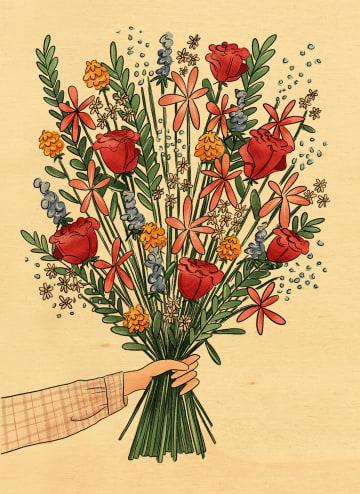 - Houten-kaart-feest-verjaardag-bloemen-van-Matia-Studio