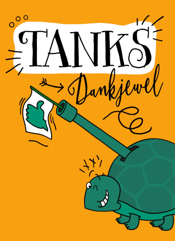 - bedanktkaart-schildpad-tanks