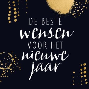 - nieuwjaarskaart-zakelijk-beste-wensen-zwart-met-goud