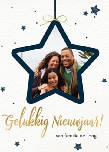 - nieuwjaar-fotokaart-ster-kader-aanpasbare-tekst