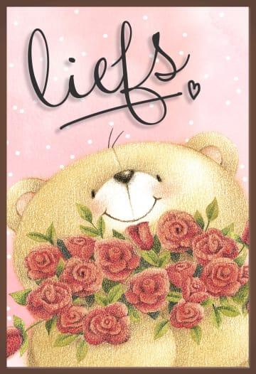 - Valentijnskaart-chocolade-Forever-Friends-liefs