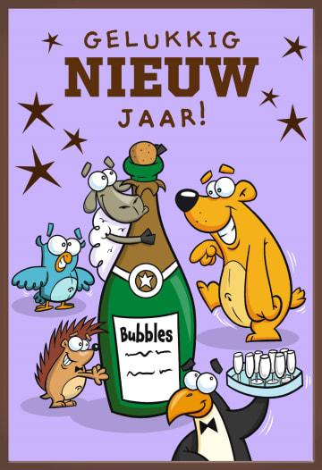 - gelukkig-nieuwjaar-met-allemaal-dieren