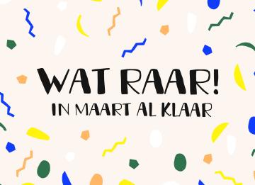 - geslaagdkaart-Wat-raar-in-maart-al-klaar