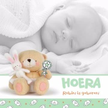 - fotokaart-vierkant-baby-forever-friends-groen