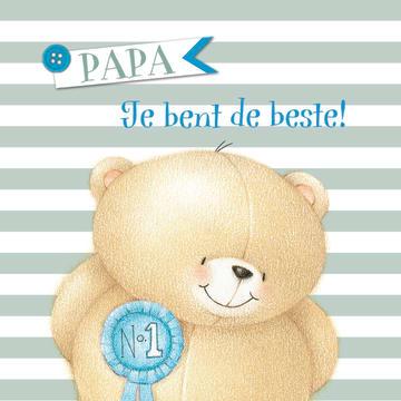 - vaderdag-kaart-forever-friends-met-de-tekst-papa-jij-bent-de-allerliefste