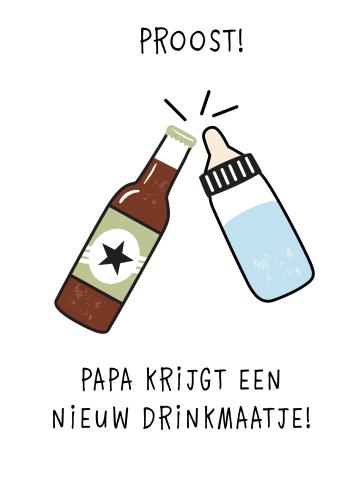 - zwangerschap-felicitatie-papa-krijgt-een-nieuw-drinkmaatje