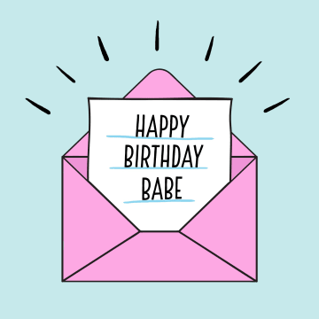 - roze-envelop-happy-birthday-babe