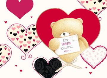 - diverse-harten-beer-met-valentijnskaart