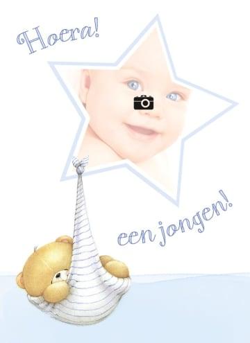 - fotokaar-forever-friends-beer-ster-hoera-een-jongen