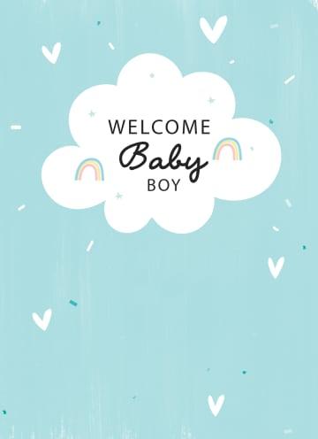 - geboorte-zoon-welcome-baby-boy-regenboog