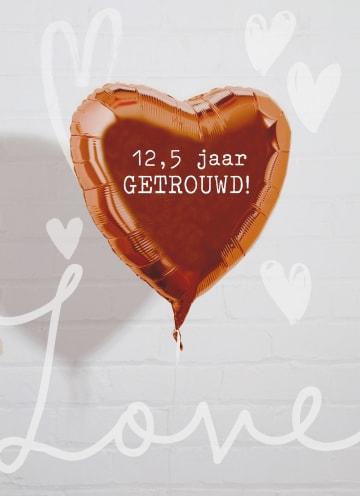 - Huwelijkskaart-12-en-een-half-jaar-Ballon-love