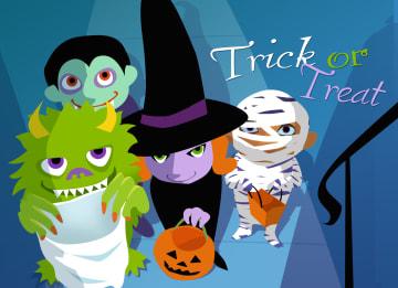 - Monsters-met-halloween