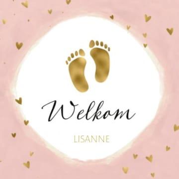 - geboorte-dochter-welkom-gouden-voetjes