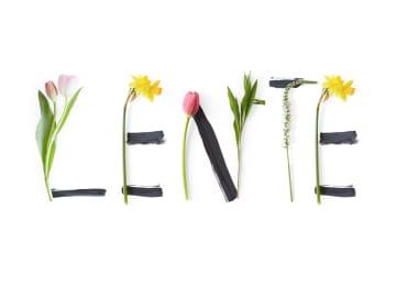 - lente-met-bloemen