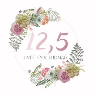 - botanical-kaart-echtvereniging-koperen-jaar-huwelijksjubileum