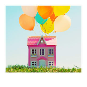 - Verhuiskaart-Vrolijk-huis-met-ballonnen-Polaroid