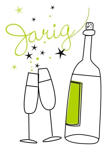 - tekening-champagne-en-glazen