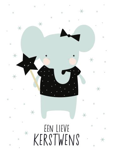 - olifant-een-lieve-kerstwens