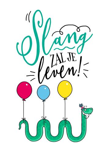 - verjaardagskaart-slang-zal-je-leven