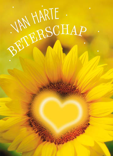 - Beterschapskaart-zonnebloem-met-hart