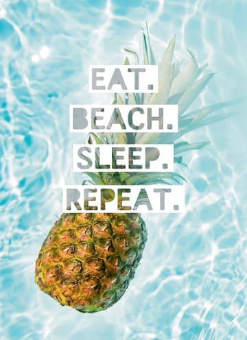 - summervibes-kaart-met-de-tekst-eat-beach-sleep-repeat