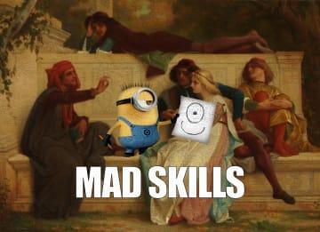 - geslaagd-kaart-minions-mad-skills