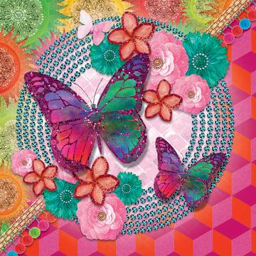 - la-mystique-gekleurde-vlinders-en-bloemen
