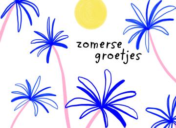 - Zomer-kaart-zomerse-groetjes